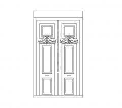 puerta de entrada mansión