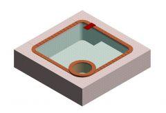 Simple Pool Design Revit Family