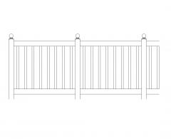 Pannello di recinzione dinamico