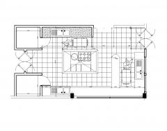 Industrielle Küchendesigns 2D-und 3D-Modelle