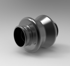 Solid-works 3D CAD Model of Universal Joint D1 (in)0,38D2 (in)0,72L1 (in)0,88