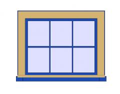 All Bars Window Revit Family 1