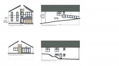 Modern 4 bed house design