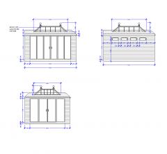 Orangery design CAD models