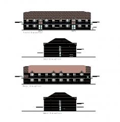 Block of flats elevation