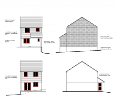 3 Bedroom house CAD drawing