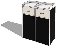 Recyclingbehälter (Doppel)