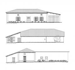 Desenho CAD da pesquisa de celeiro