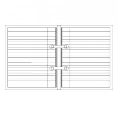 Binder folder dwg block