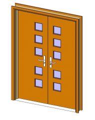 Door Design Revit Family
