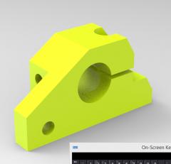 Inventor CNCマシナブルD CADモデル15