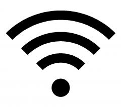 Wifi symbol dwg block