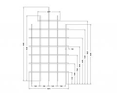 DWGブロックを設定するトレリス