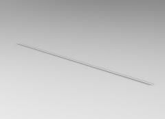 Autodesk Inventor 3D CAD Model of Precision shaft L1100      D3(mm)