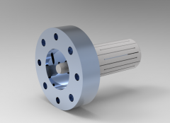 Solid-works 3D CAD Model of Clamping chucks, Socket size=120        Aa=149        Lges=55,60 - 58,00