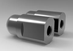 Solid-works 3D CAD Model of gel damping Shock absorber, M8x1.25