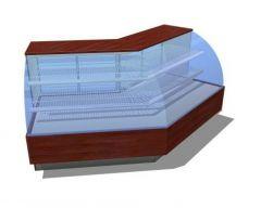 Angular Pastry Stand revit model