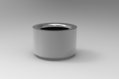 Solid-works 3D CAD Model of Liner Bush for Carr Lock, ID-16mmL-0.75(Inch)OD-1(Inch)