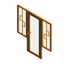 Doors and windows revit family