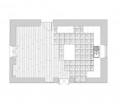 Kitchen floor finishes dwg plan