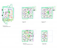 Hotel Design Grundrisse dwg