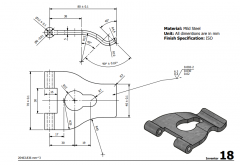 3 & 5 Axis CNC Machinable 2D CAD Drawing 18