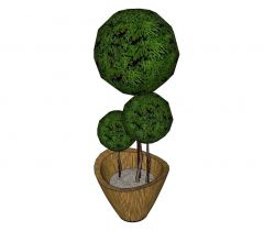 Topiary Sketchup model