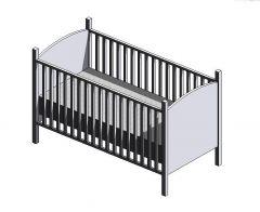 Kinderbett Revit-Modell