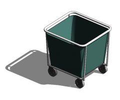 Linen Trolley Revit model