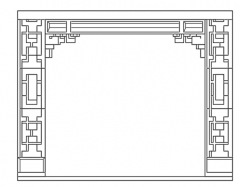interior gypsum dwg