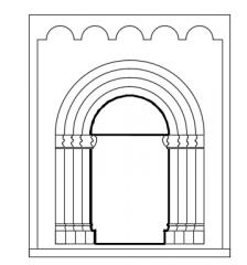 Gate entrance dwg