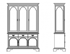 Wall library dwg