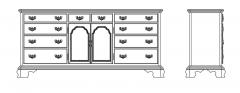 Cabinet Storage dwg