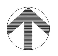 North arrow dwg