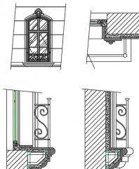 Window detail dwg