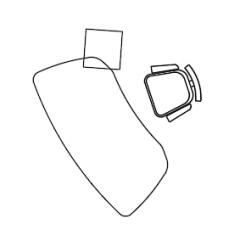 Möbel Büro- Schreibtischplan dwg