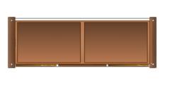 Hatch Glass Table Plan dwg