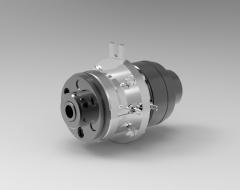 Autodesk Inventor 3D CAD Model of Clutch & brake combination Size 04