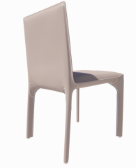 Gray leather chair revit family