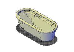 Bath Design 03 3D model