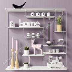 Kitchen shelf 3ds max