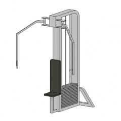 Pectoral Fly Machine Revit model