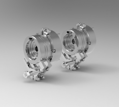 Autodesk Inventor 3D CAD Model of Electro Magnetic Powder clutch torque 1000Nm.