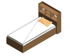 Bed Design Revit Family 11