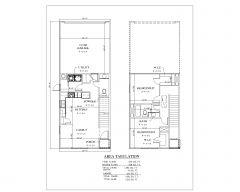 2 & 3 Bedroom Rental Duplex House US Style .dwg-6