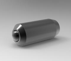 Autodesk Inventor 3D CAD Model of Ball Plunger Steel Ball M3 (mm)