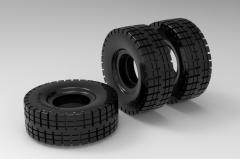 Autodesk Inventor ipt file 3D CAD Model of Solid rubber tread bands D=306(mm)Tyre width (mm)105Load cap. at 6 km/h 700(kg) Load cap. at 25 km/h 535(kg)
