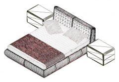 Bed Design Revit Family 10