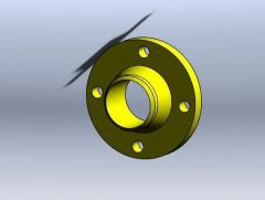 Flange 3D Solidworks Model