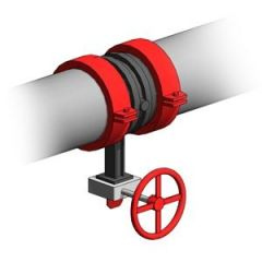 Fire Pipework Butterfly Valve rfa